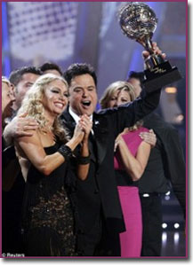 Donny Osmond Dancing with The Stars Win