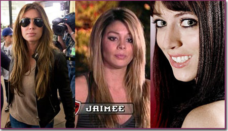 Tiger Woods Affair, alleged mistresses from left to right Rachel Uchitel, Jaimee Grubbs and Kalika Moquin